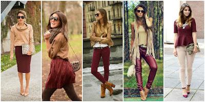 kombinasi warna pakaian
