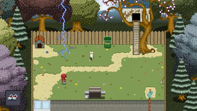 Prueba la demo de 'Mayhem In Single Valley', un curioso RPG de vista aérea inspirado en clásicos