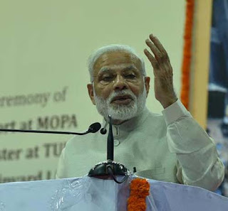 Had left my family and home to serve the nation: PM Modi