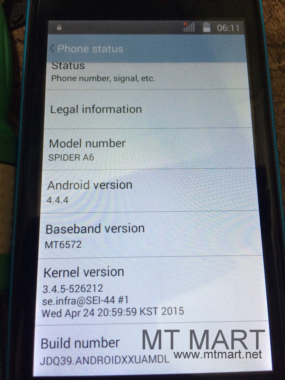 Mycell Spider A6 MTK6572 4 4 4 flash file - Rom Develop