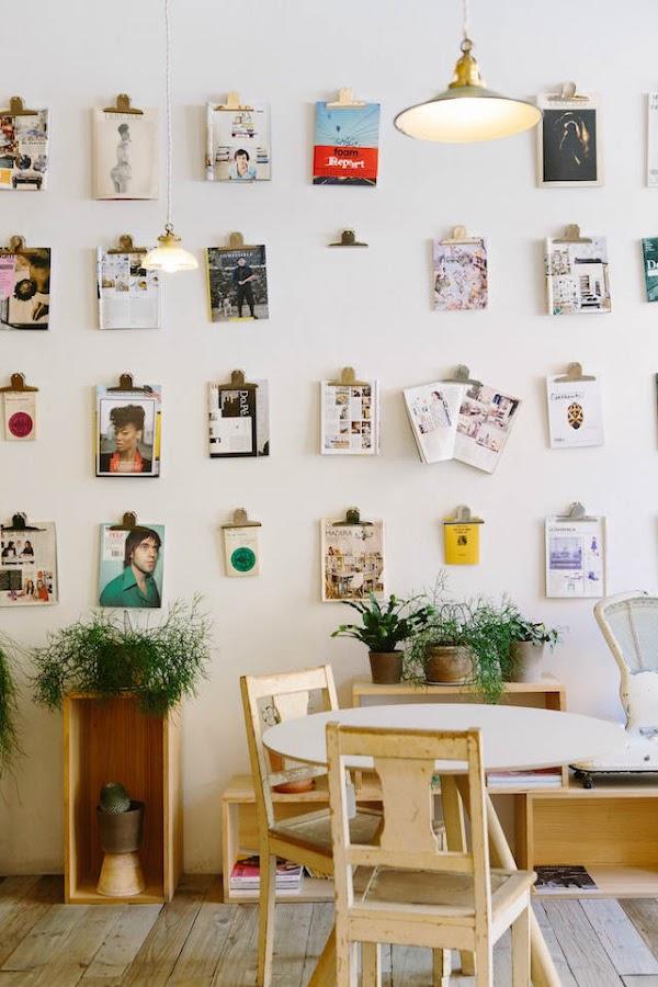 10 trucos para decorar tu hogar en invierno por menos de 100€, colección de fotos y láminas en la pared