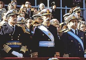 Junta Militar 1976 - Presidentes de la República Argentina - Presidentes Argentinos
