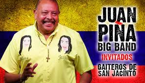 JUAN PIÑA Y SU BIG BAND, INVITADOS LOS GAITEROS DE SAN JACINTO