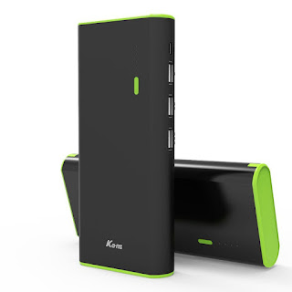 Portable Charger,Kans 10000mAh Power Bank for iPhone, Samsung Galaxy ,Kindle £10.50
