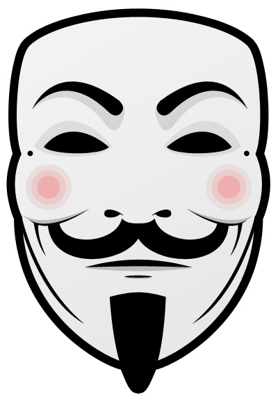 You are anonymous: Guy Fawkes Mask (.psd)