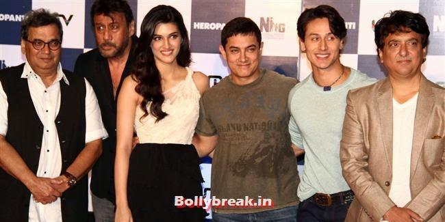 , Kriti Sanon at Heropanti Movie Trailer Launch