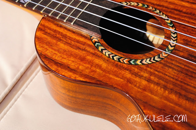 Mr Mai M-M80 Concert Ukulele decoration