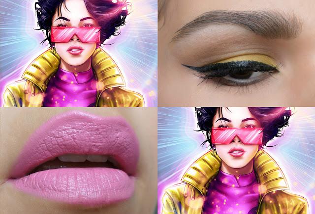 Maquiagem Jubilee do X-Men