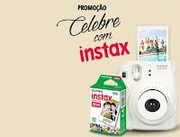 Promoção Celebre com Instax Fujifilm instax.com.br/celebrecominstax