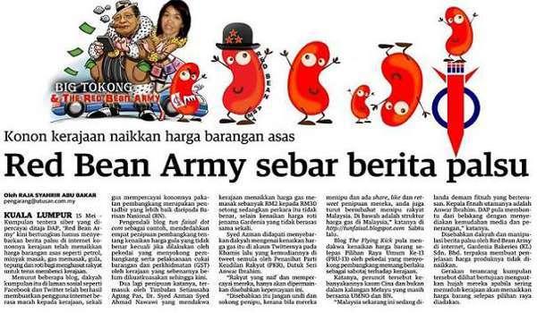 Kit Siang mengakui Red Bean Army DAP kecundang