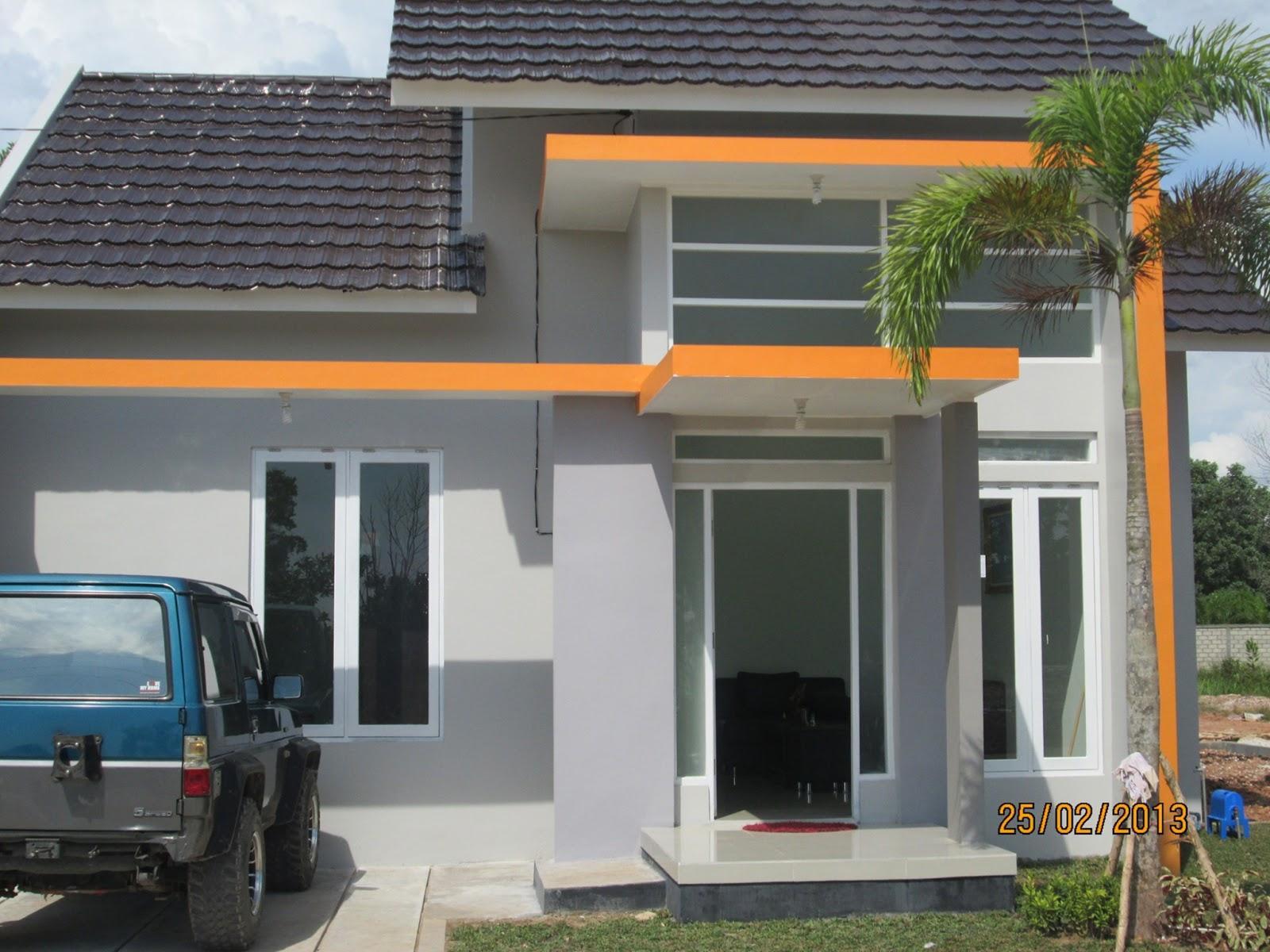 Pondasi Dengan Baja Ringan Jual Beli Di Kalimantan: Contoh Rumah Type 45 Citra Graha ...