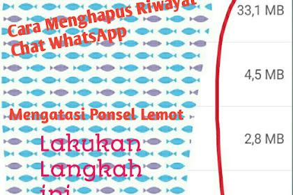 Cara Menghapus Riwayat Pesan WhatsApp
