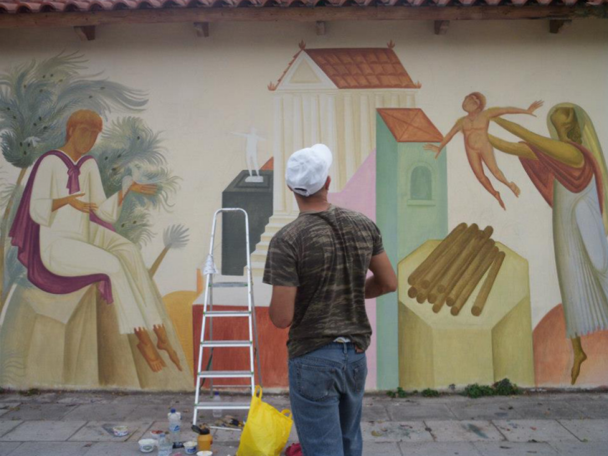 Fikos Street Artist Athens
