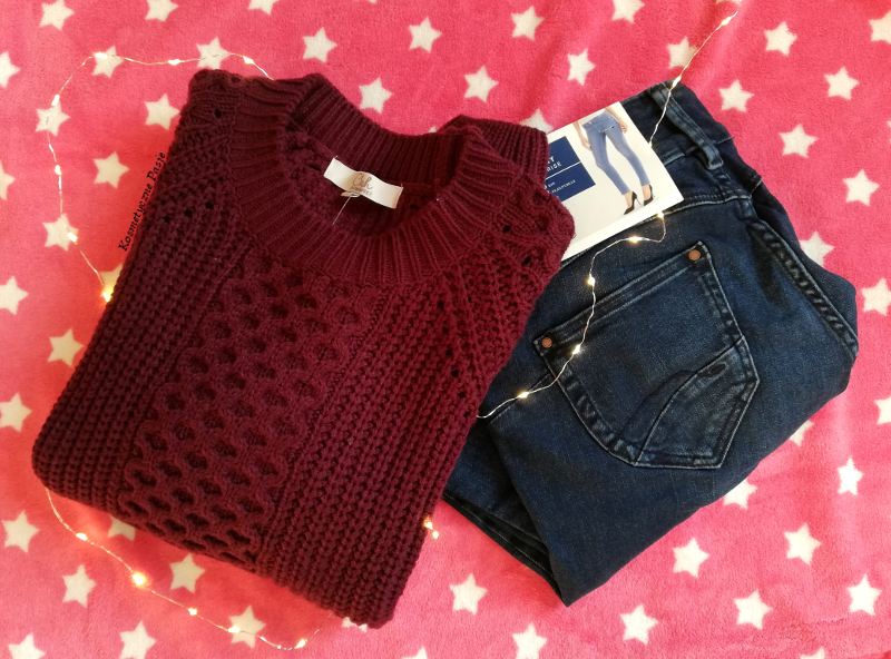 c&a proste jeansy