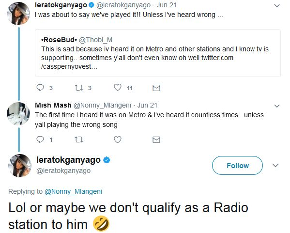 Lerato Kganyago Ain't Here For Cassper's Lies his song only