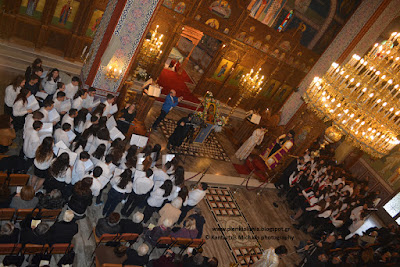 Οι Γ΄ Χαιρετισμοί στον Ιερό Ναό Αγίας Άννας Κατερίνης. (ΦΩΤΟ)