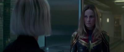 Capitana Marvel Vengadores: Endgame