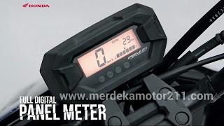 panel meter honda beat street