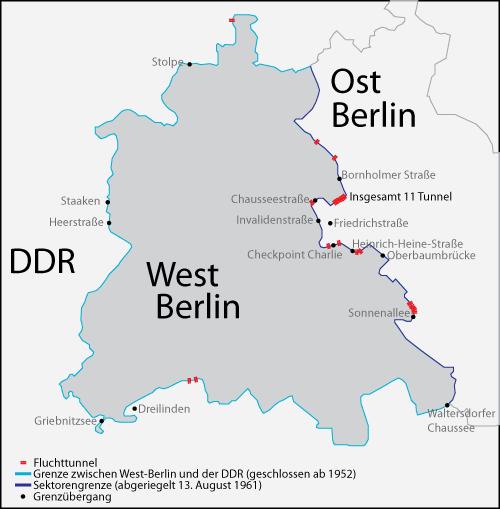 Berlin Ost West Grenze
