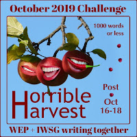 WEP CHALLENGE FOR  OCTOBER - HORRIBLE HARVEST