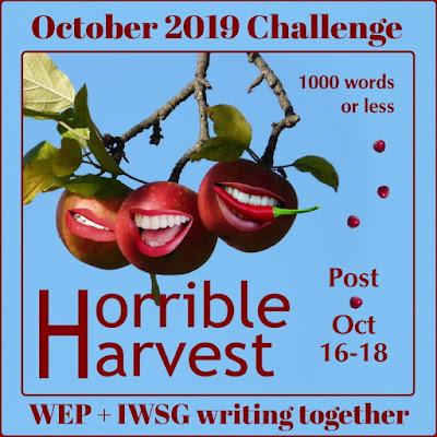 WEP+IWSG October 2019 Challenge!