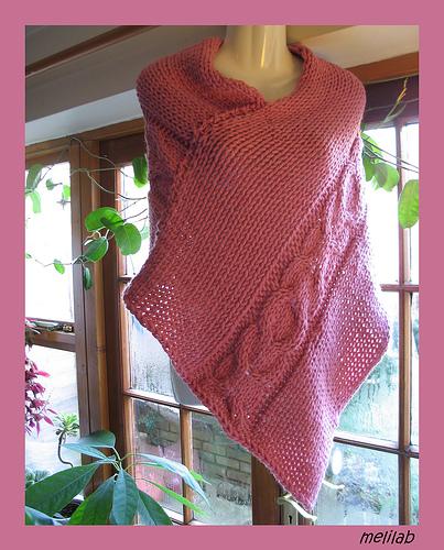 Free Knitting Pattern New Rectangular Knitting Shawl Patterns