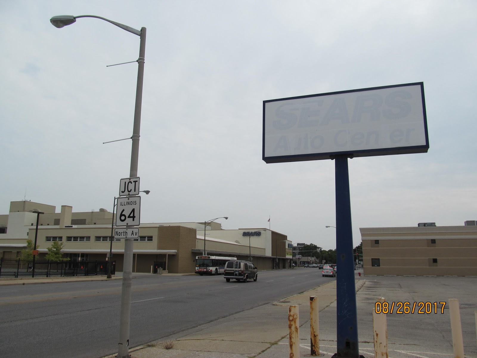 Elmwood Park Auto Mall >> Trip to the Mall: Sears Harlem Avenue, Chicago, IL Closing