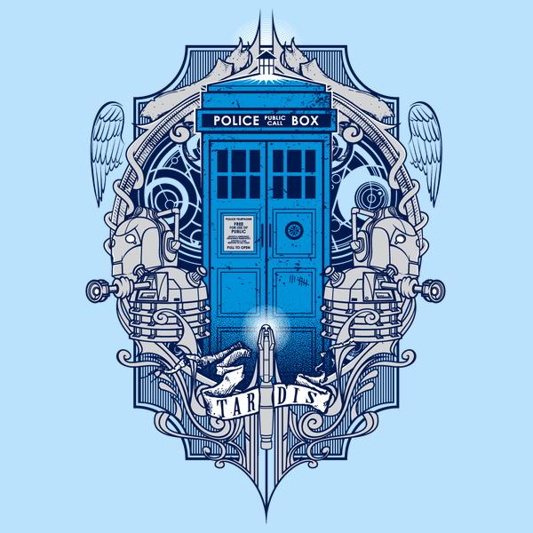 Un Magnifique Tshirt Doctor Who Espritgeek