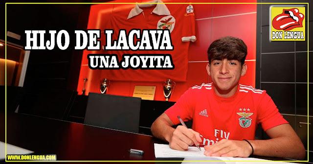 El hijo de Drácula Rafael Lacava firmó para jugar con el Benfica - Qué Joyita