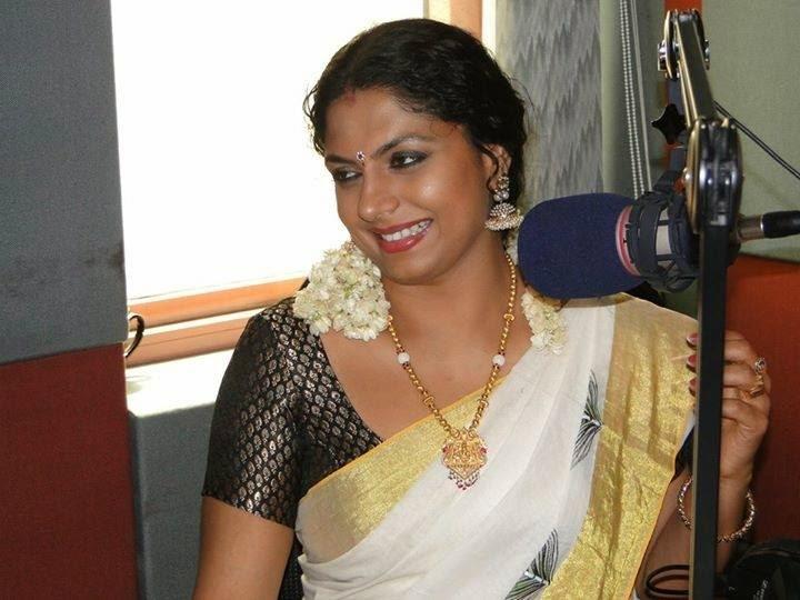 Mallu Serial Actress Asha Sarath Hot Latest Photos In -2712