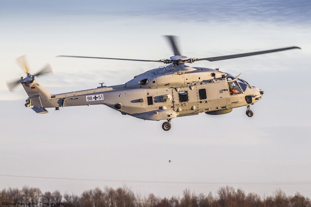 German Navy NH90 maiden flight
