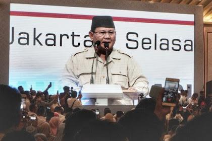 Prabowo: Enggak Usah Takut-takuti Kami dengan Makar
