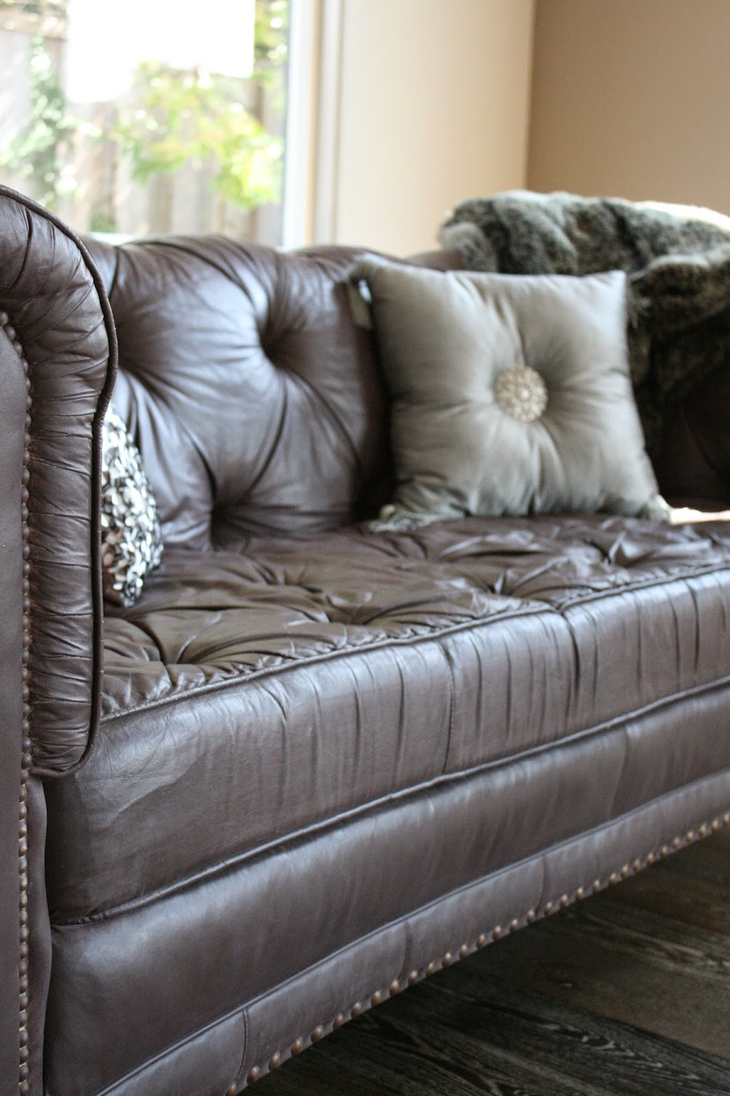 Can I Spray Paint My Leather Sofa Fabric Set Painted Reloved Rubbish The Thesofa