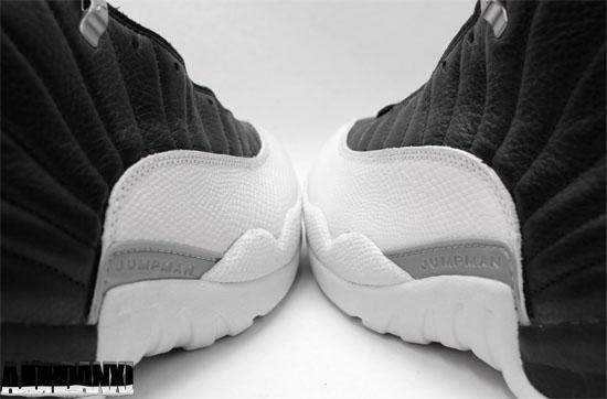 buy online 68cb2 cf213 Air Jordan XII (1997). 136001-061 Black Varsity Red-White-Metallic Silver