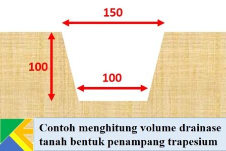Cara menghitung volume pekerjaan drainase | KUMPUL ENGINEER