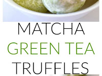 MATCHA GREEN TEA TRUFFLES