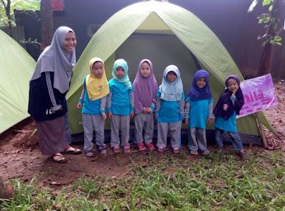 camping untuk anak-anak