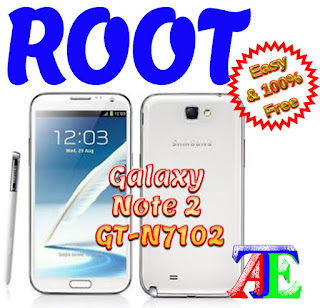Root Galaxy Note 2 GT-N7102 KitKat