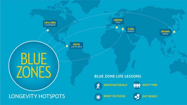 Nicoya-Halbinsel blaue Zone