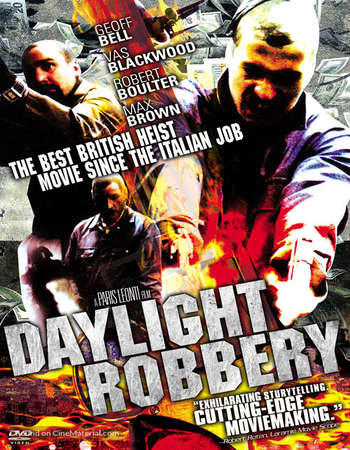 Poster Of Daylight Robbery 2008 Hindi Dual Audio 140MB  HEVC Mobile  Free Download Watch Online world4ufree.org