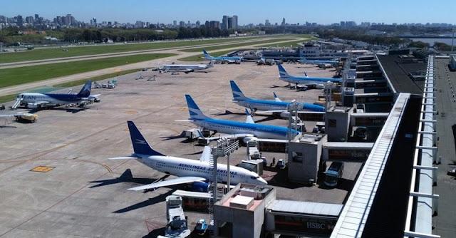 Companhias aéreas e destinos do aeroporto Jorge Newbery em Buenos Aires