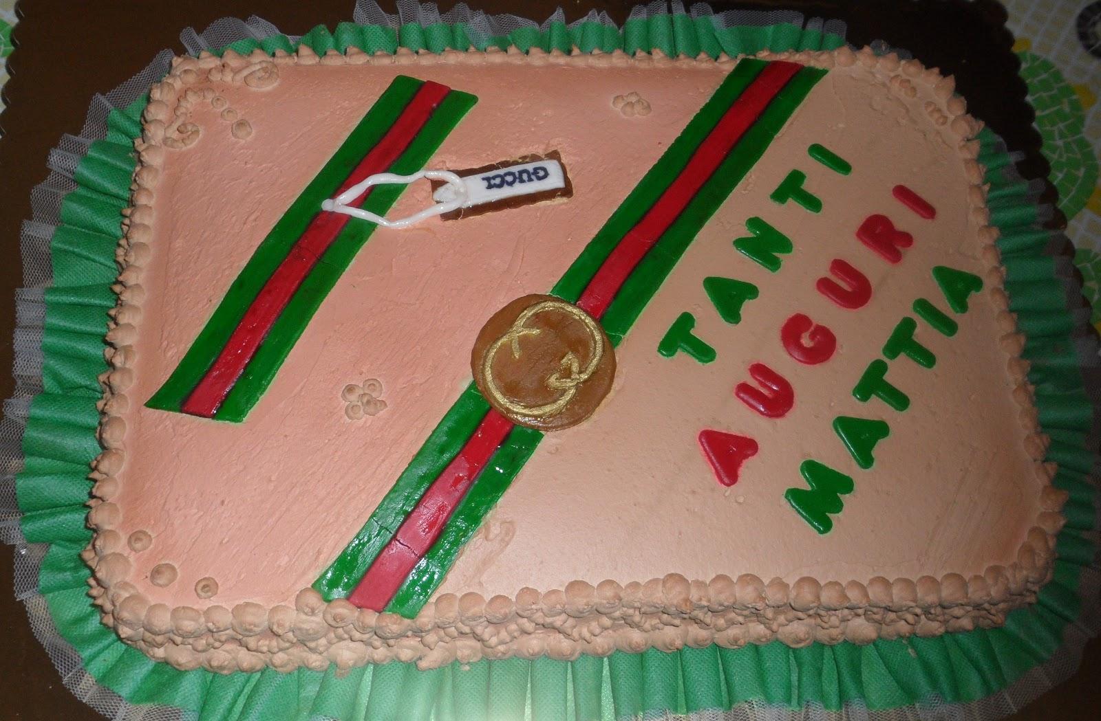 Torta FirmaGUCCI !!!