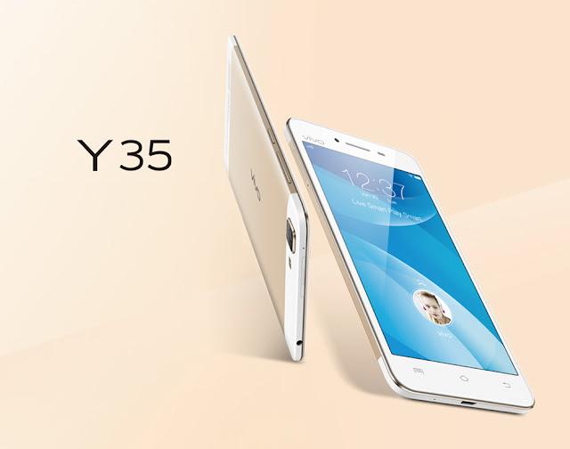 Harga HP Vivo Y35 dan Spesifikasi Vivo Y35 Terbaru Desember 2015