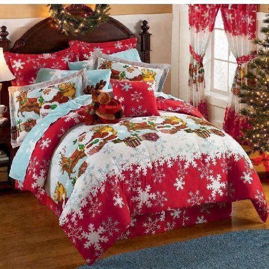 Fabulous Christmas święta W Sypialni