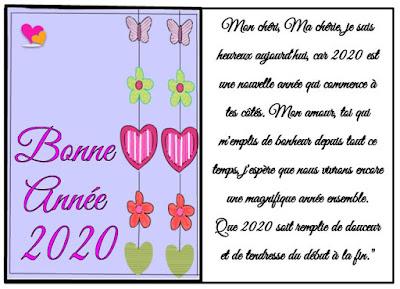 Lettre d'amour pour une bonne année 2020