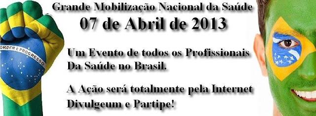 GRANDE MOBILIZAÇÃO NACIONAL DOS PROFISSIONAIS DA SAÚDE 1