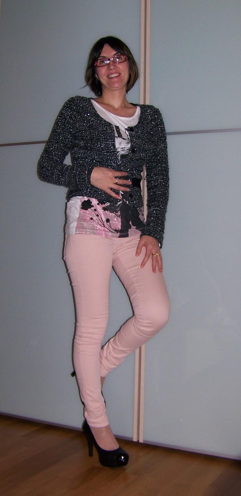 Ma Come Mi Vesto   outfit di Primavera  I pantaloni rosa cipria bdac9997a5d9