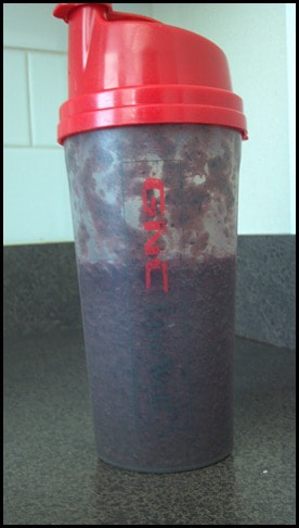 blueberry immune booster protein smoothie