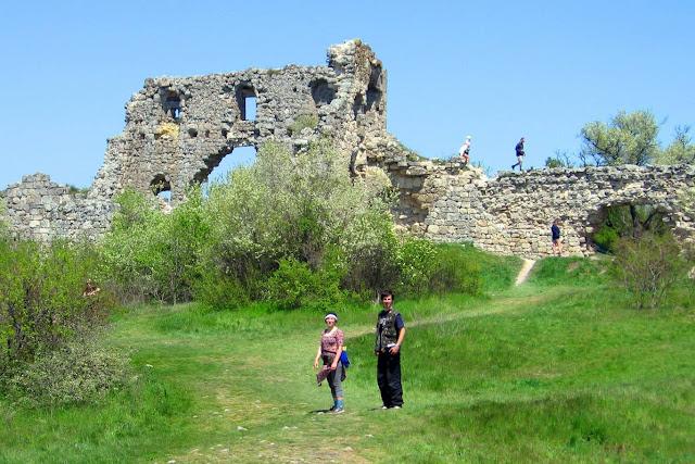 Мангуп, остатки крепости