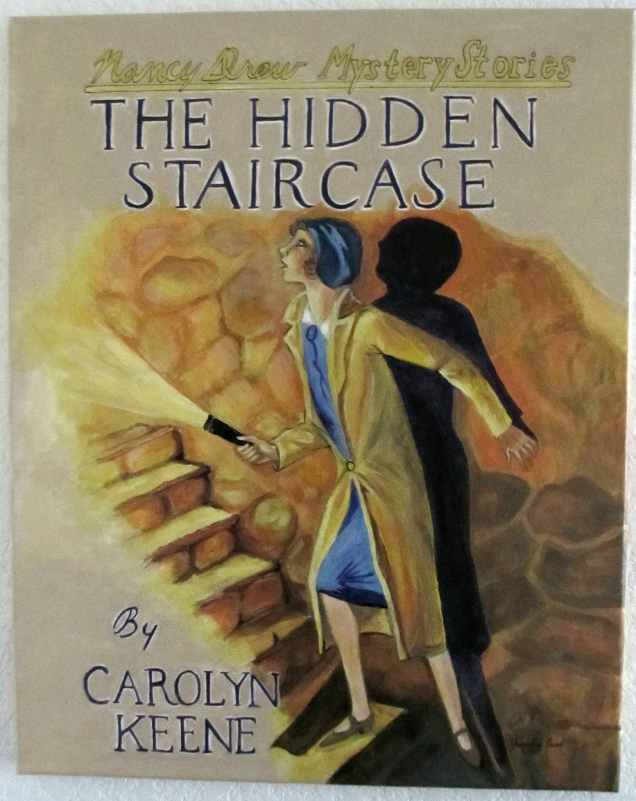 Leone Shared The Painting For The Hidden Staircase With Fans At The Nancy  Drew Sleuthsu0027 2012 Convention!